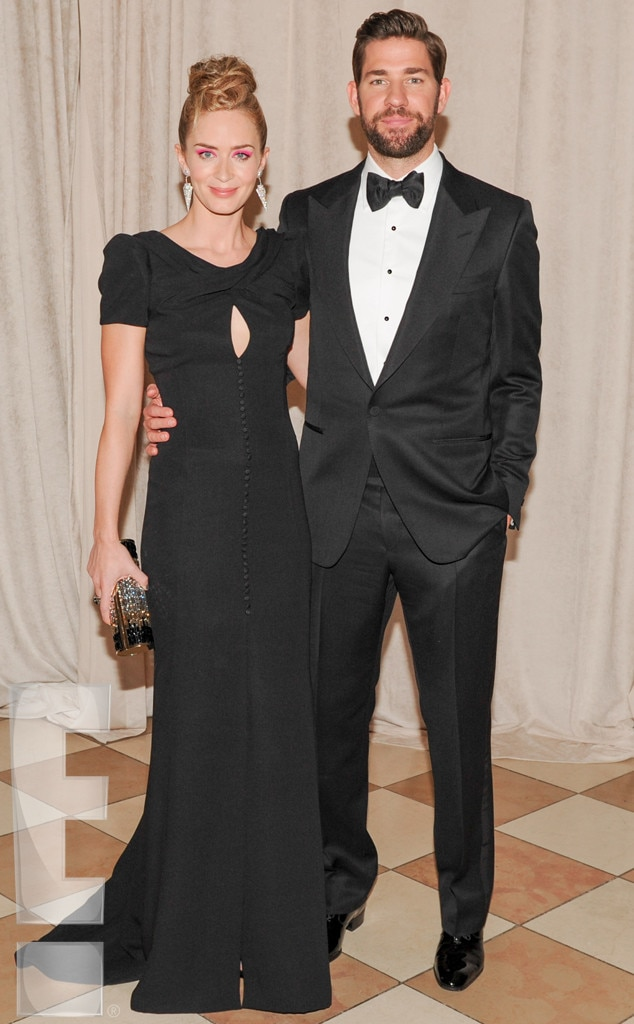 Emily Blunt, John Krasinski, MET Gala
