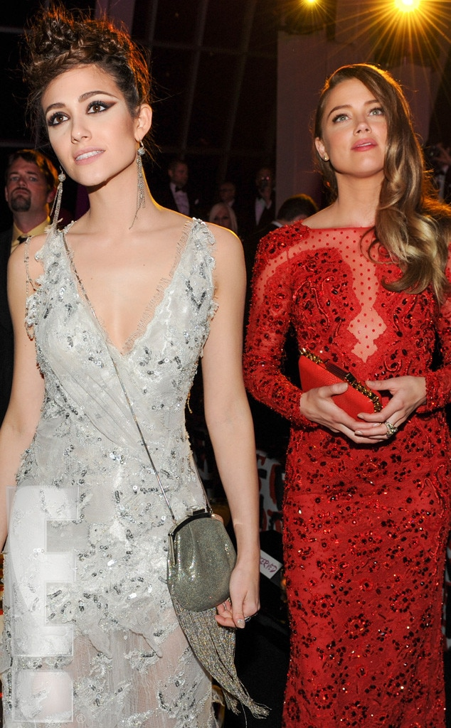 Emmy Rossum, Amber Heard, Met Gala