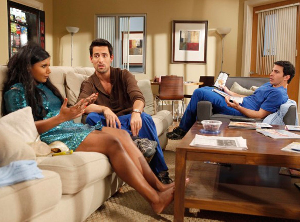 THE MINDY PROJECT, Mindy Kaling, Ed Weeks, Chris Messina