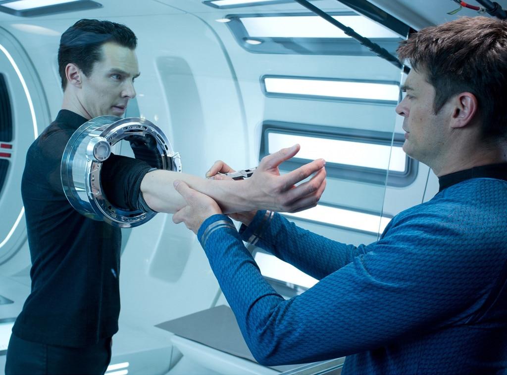 Star Trek Into Darkness, Benedict Cumberbatch, Karl Urban