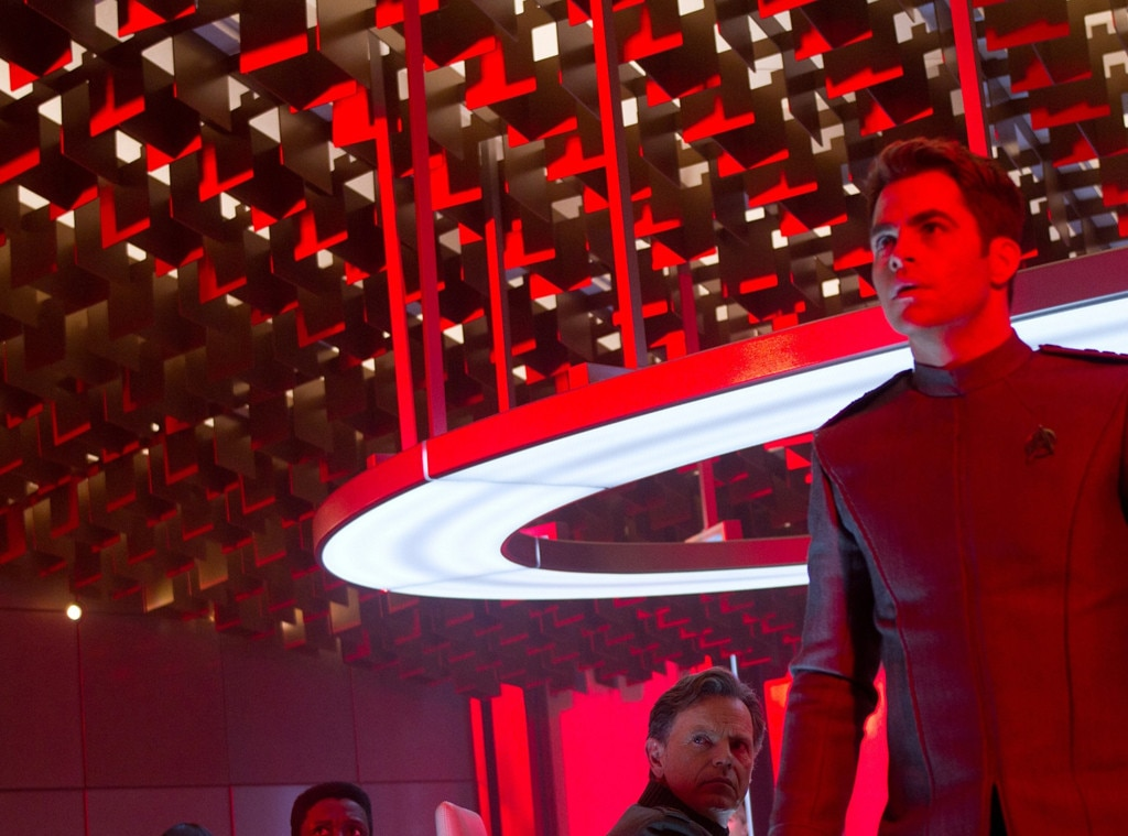 Star Trek Into Darkness, Chris Pine