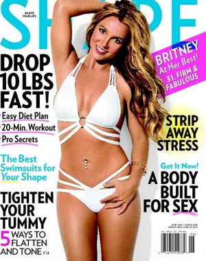 Britney Spears, Shape