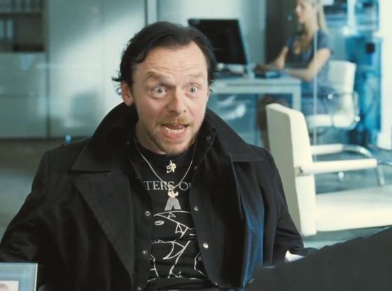 Simon Pegg, At World's End