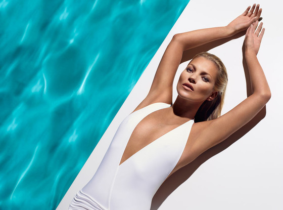 Kate Moss, nearly 40, uncovers the secret of her all-over