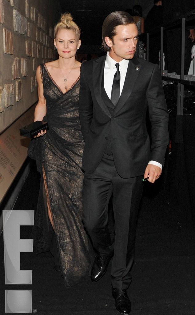 Jennifer Morrison, Sebastian Stan, MET Gala