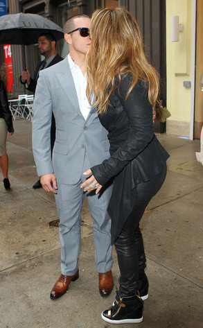 Jennifer Lopez, Casper Smart, PDA