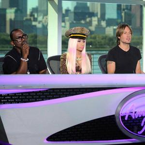 Randy Jackson, Nicki Minaj, Keith Urban, Mariah Carey, AMERICAN IDOL