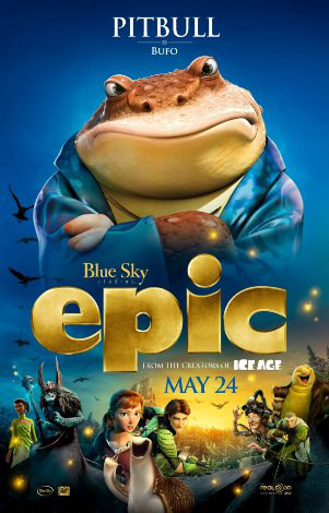 Epic The Movie, Beyonce, Pitbull