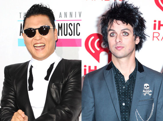 Psy, Billie Joe Armstrong
