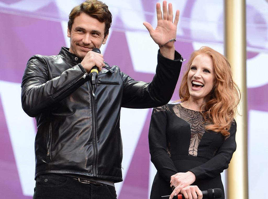 James Franco, Jessica Chastain