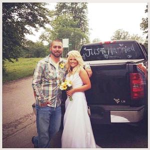 Corey Simms, Miranda Patterson, Wedding