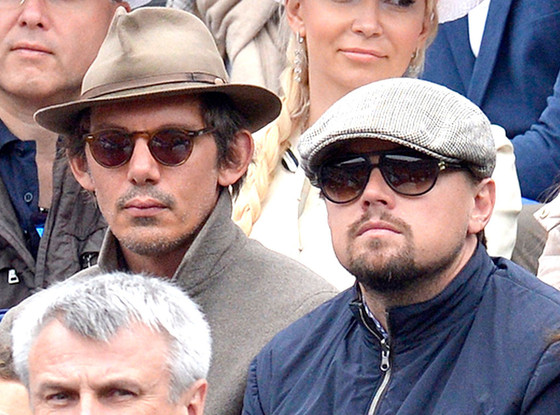 2bec15f278823 Leonardo DiCaprio and Lukas Haas Catch French Open Finals—See the Pic!
