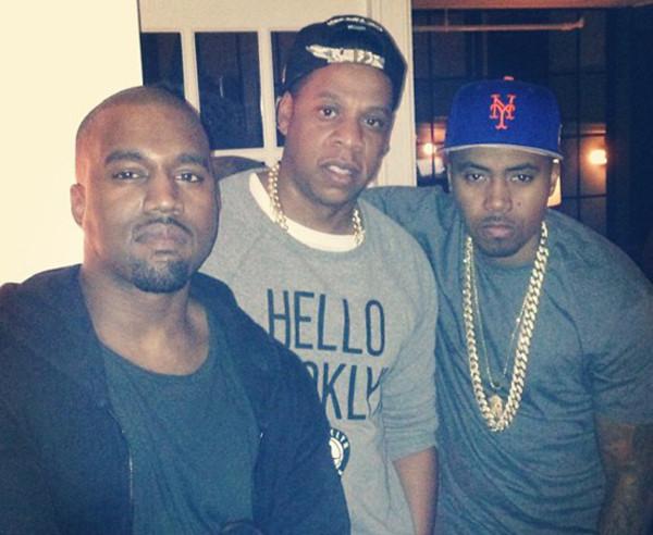 Kanye West, Jay-Z, P. Diddy