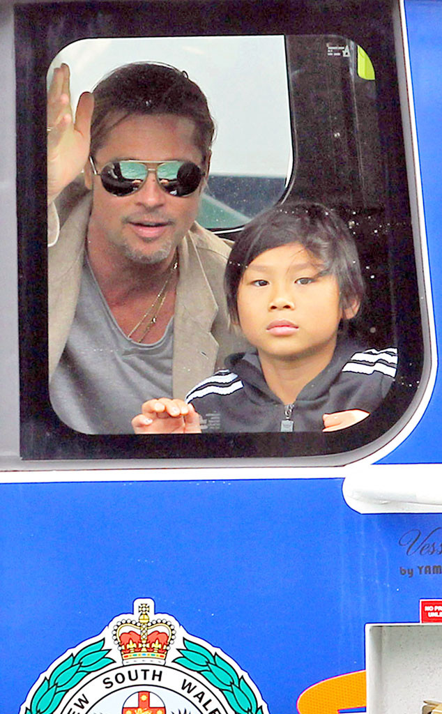 Brad Pitt, Pax