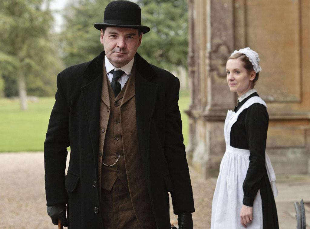 Joanne Froggatt, Brendan Coyle, Downton Abbey