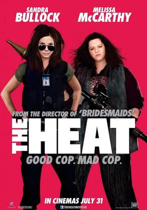 Sandra Bullock, Melissa McCarthy, The Heat Poster