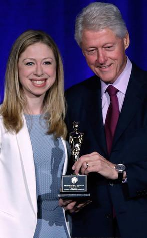 Chelsea Clinton, Bill Clinton