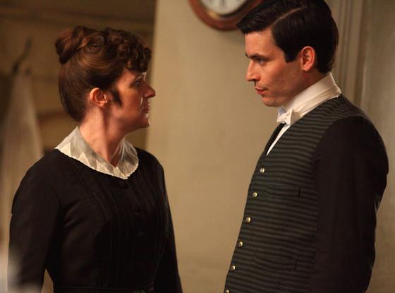 Siobhan Finneran, Downton Abbey, Rob James-Collier