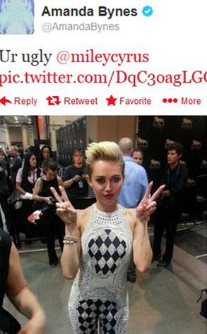 Miley Cyrus, Amanda Bynes