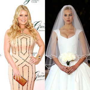 691c66491b0 Celebrity Wedding Gowns  What Hollywood s Brides-to-Be Should Wear ...
