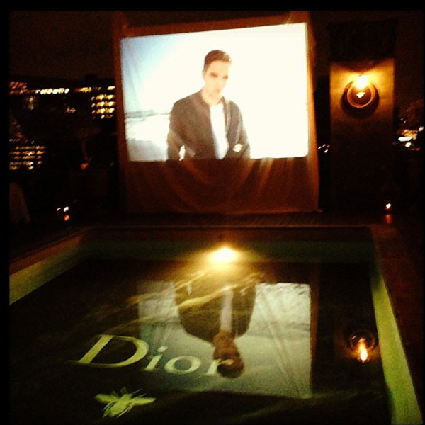 Robert Pattinson, Dior Ad, Instagram