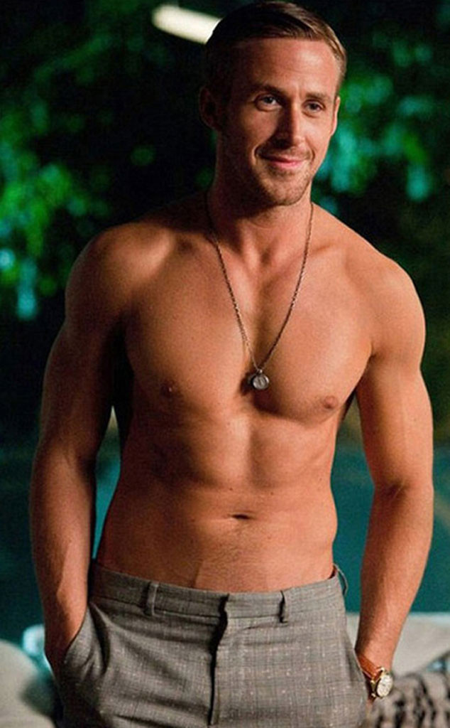 Ryan Gosling, Crazy Stupid Love, Shirtless