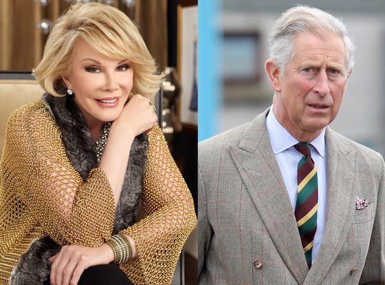 Prince Charles, Joan Rivers