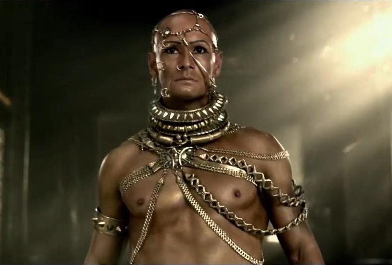 Rodrigo Santoro as Xerxes in 300, the Empire Rises