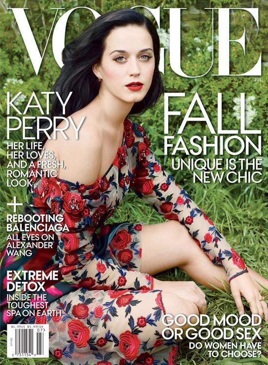 Katy Perry, capa Vogue