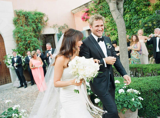 Lindsay Price, Curtis Stone, Wedding