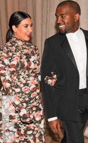 Kim Kardashian, Kanye West, MET Gala