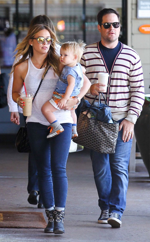 Hilary Duff, Luca, Mike Comrie