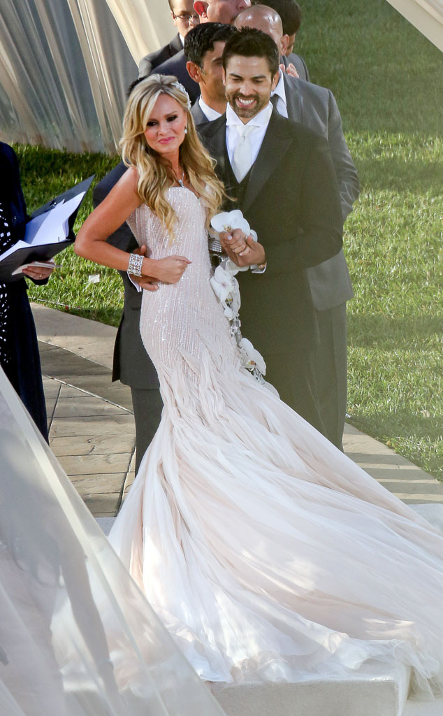 Tamra\'s OC Wedding First Look: Drama, Strippers and a Gorgeous (Pink ...