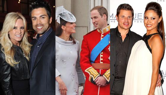 Tamra Barney, Eddie Judge, Duchess Catherine, Kate Middleton, Prince William, Nick Lachey, Vanessa Minillo