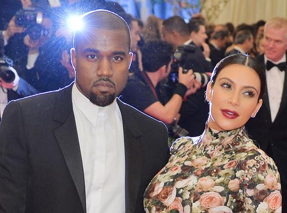 Kanye West, Kim Kardashian, MET Gala