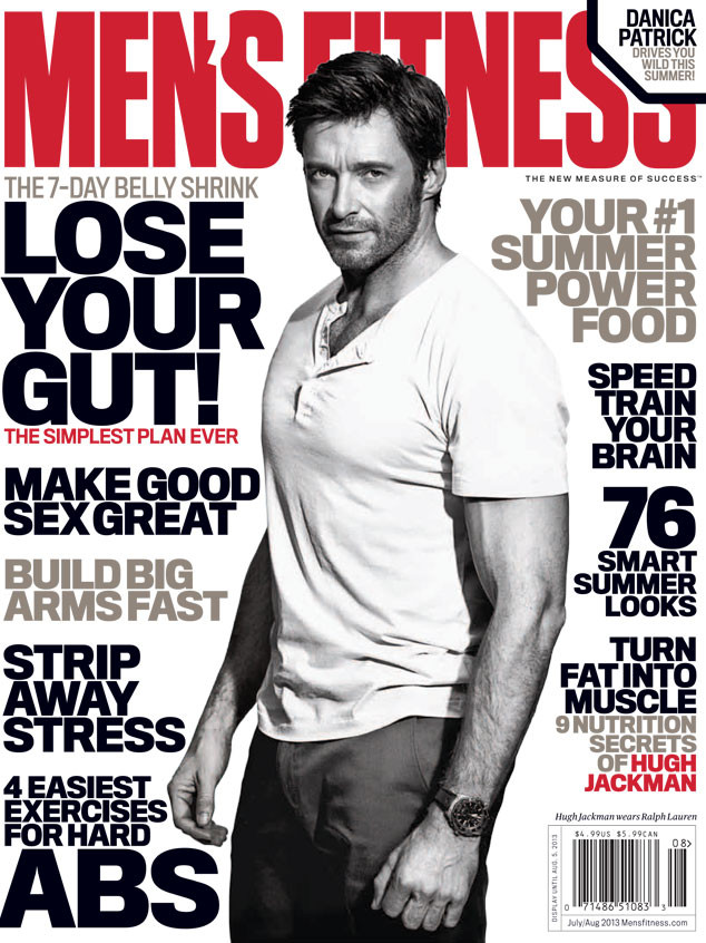 MEN'S FITNESS, Hugh Jackman