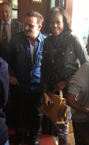 Bono, Michelle Obama