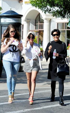 Kourtney Kardashian, Khloe Kardashia, Kris Jenner