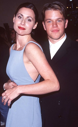 Minnie Driver, Matt Damon