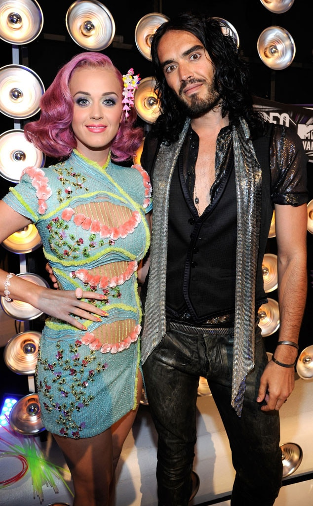 Katy Perry, Russell Brand, VMA Couples