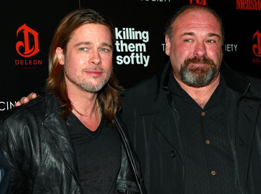 Brad Pitt, James Gandolfini