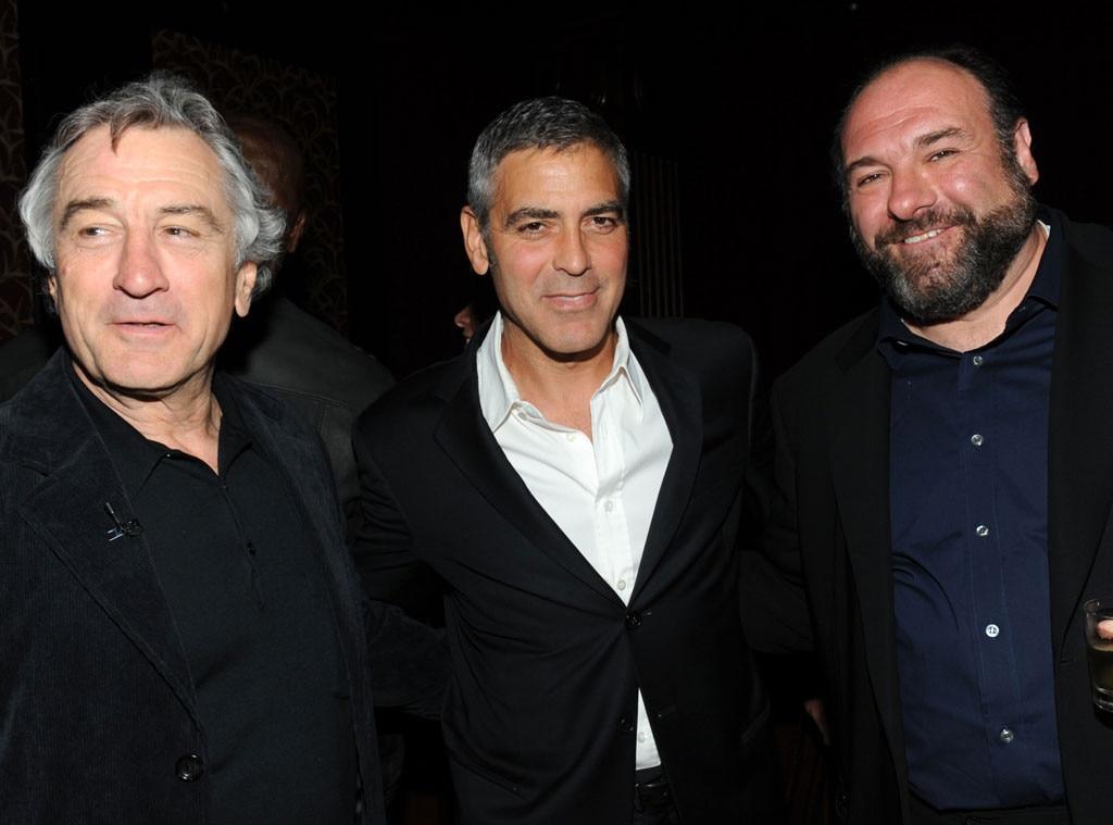 Robert DeNiro, George Clooney, James Gandolfini