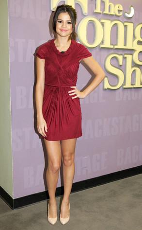 Selena Gomez, The Tonight Show with Jay Leno