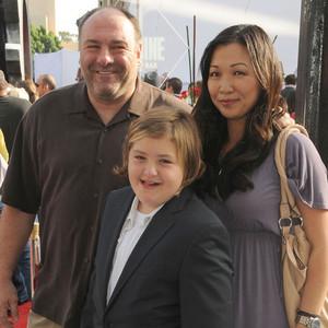 James Gandolfini, Deborah Lin, Michael Gandolfini