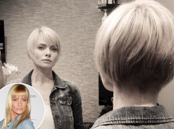 Jaime Pressly, Haircut