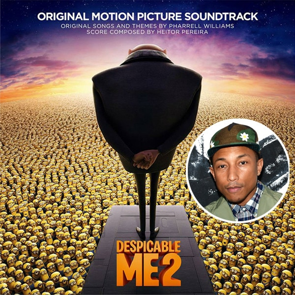 Despicable Me 2 Album,  Pharrell Williams