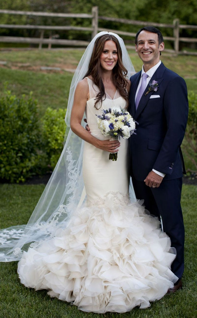 Ashley Biden from Famous Brides in Vera Wang Wedding Gowns | E! News