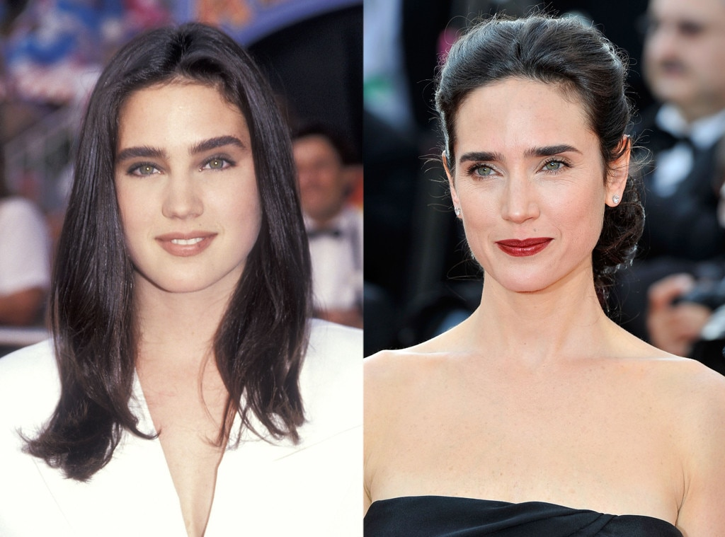 Jennifer Connelly, Then and now