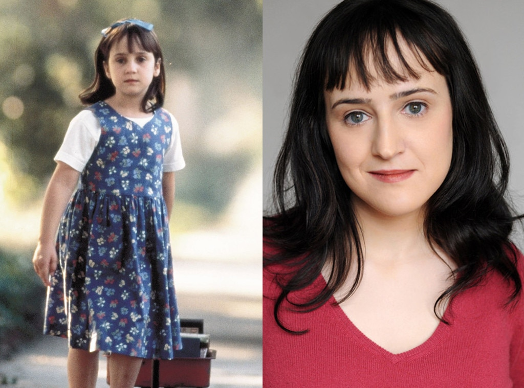 "Mara Wilson -  The  Matilda  star had to convince her parents to let her get into acting, and she's proved that they made the right decision. The actress recently even wrote an essay titled ""7 Reasons Child Stars Go Crazy"" to share her insider perspective  ."