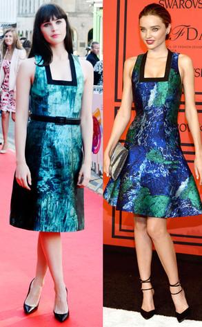Felicity Jones, Miranda Kerr